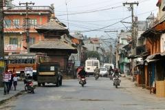 Nayabazar Road, Pokhara old town, Nepal