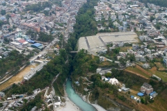 The Seti River rushes through a crack in the rocks, Pokhara, Nepal
