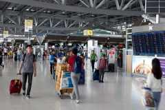 Suvarnabhumi airport is always busy.