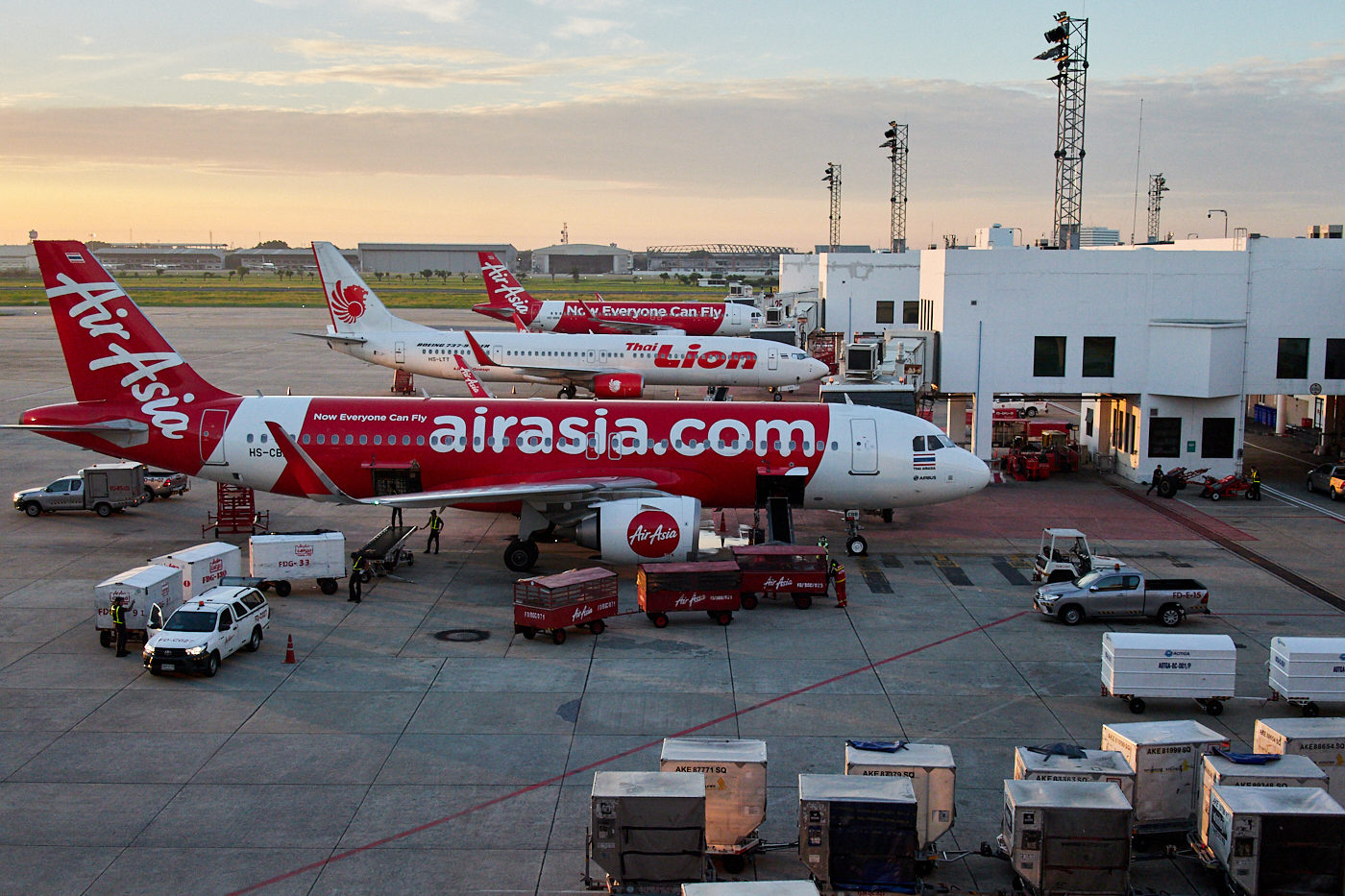 air asia at bangkok don mueang airport