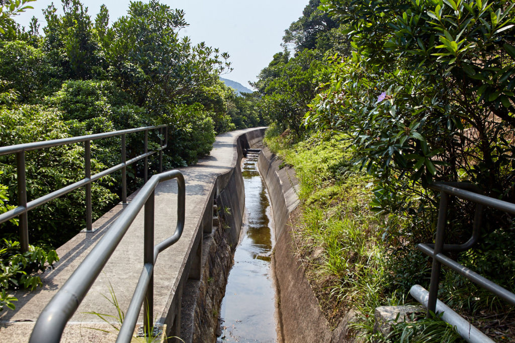 The Tai Tam West Catchwater