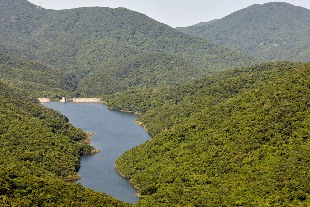 Hiking in Hong Kong: The Tai Tam Intermediate reservoir