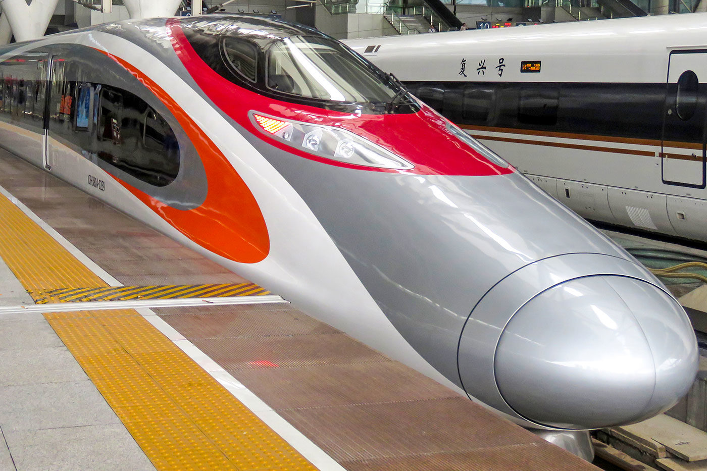 New high speed rail services between Hong Kong and mainland China