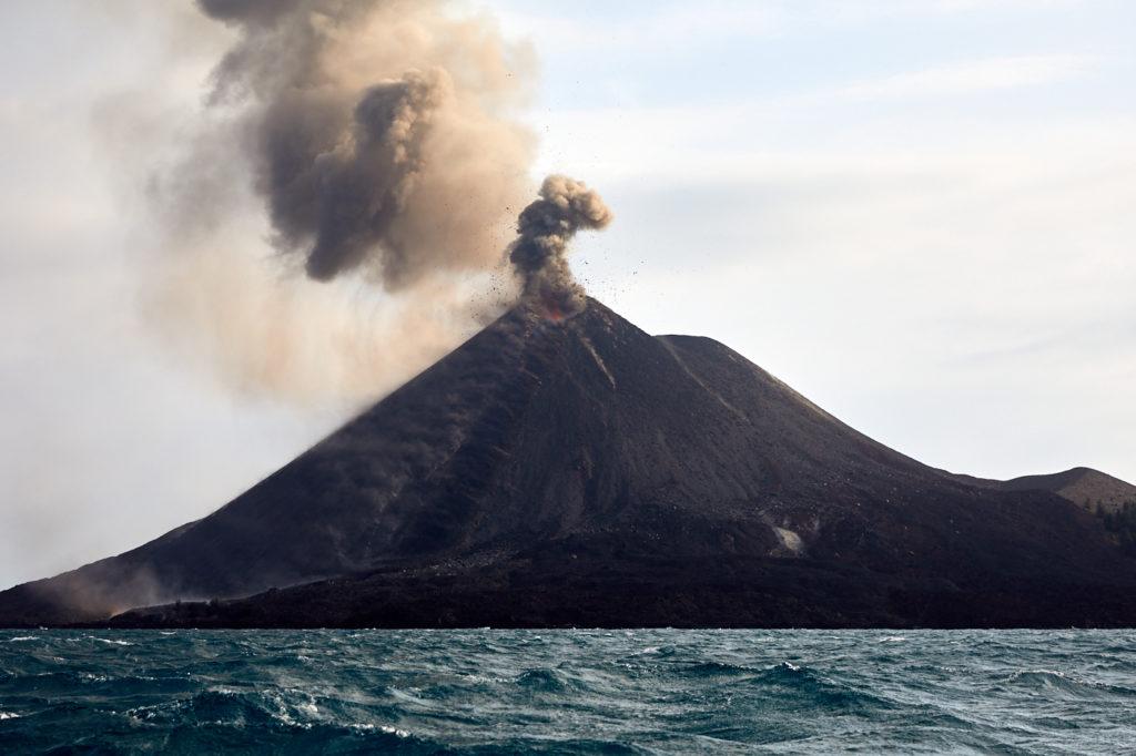 Anak Krakatau: A giant slumbers
