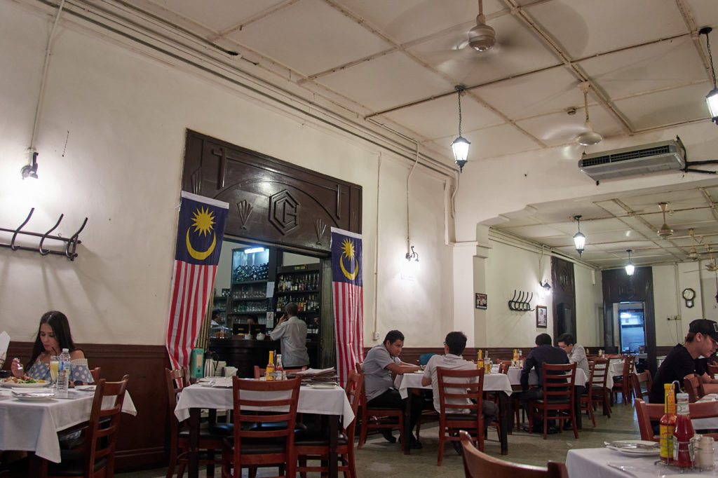 Coliseum Cafe and Bar, Kuala Lumpur