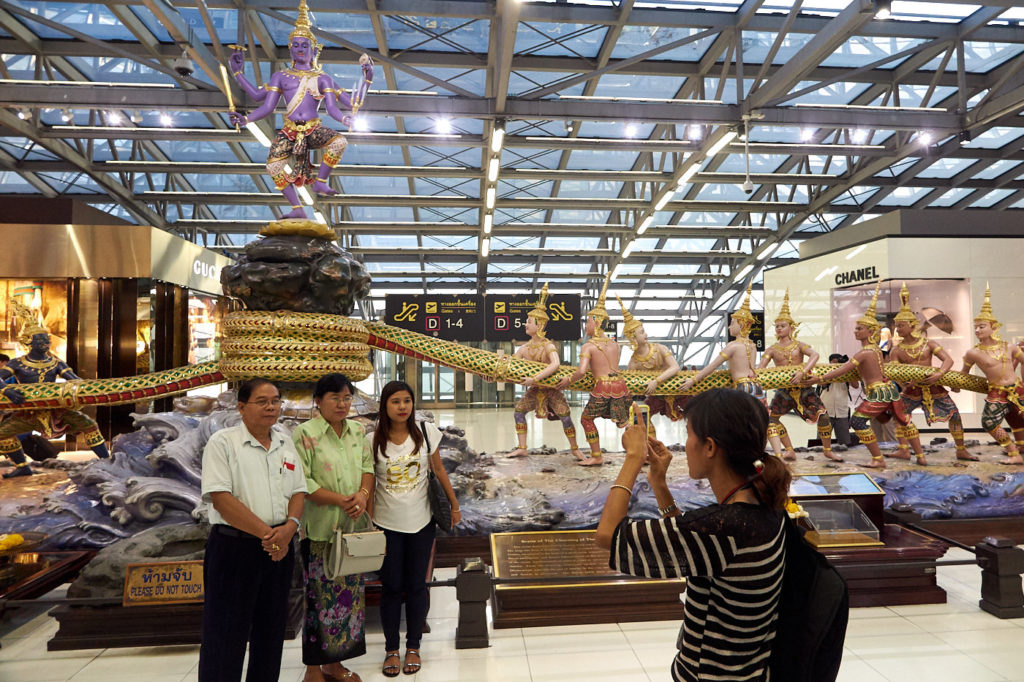 Suvarnabhumi Airport diorama