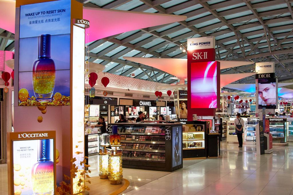 Suvarnabhumi Airport Bangkok duty free