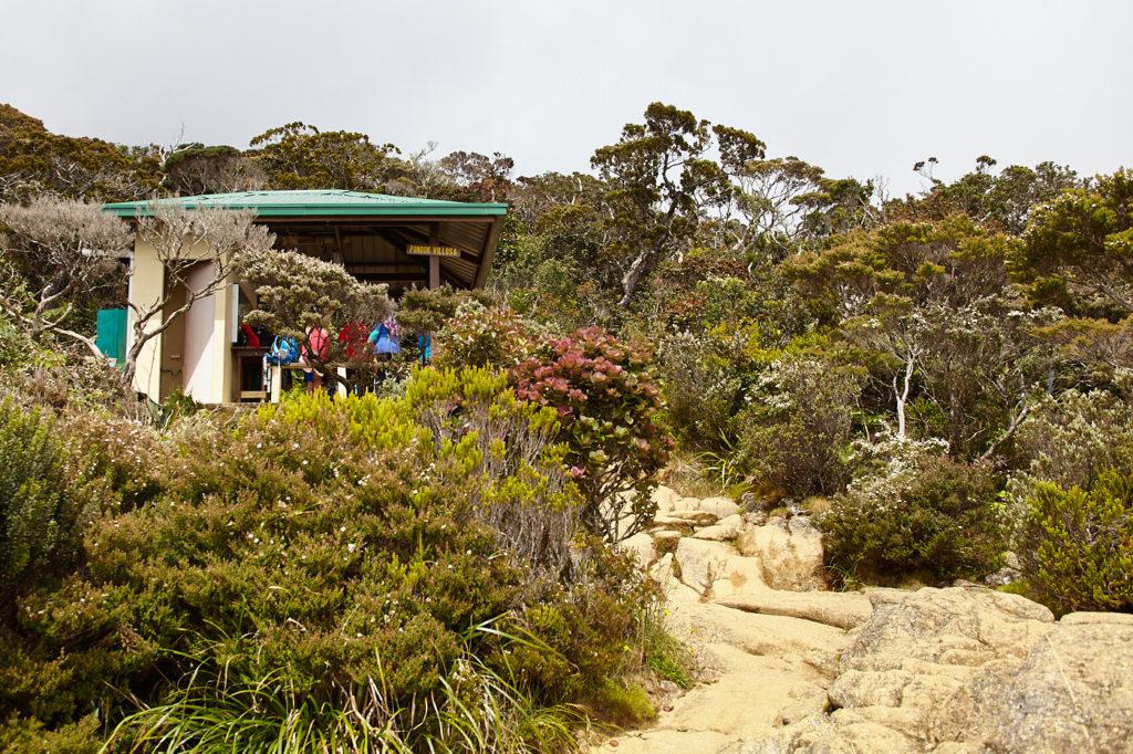 Climbing Mt Kinabalu, Villosa shelter