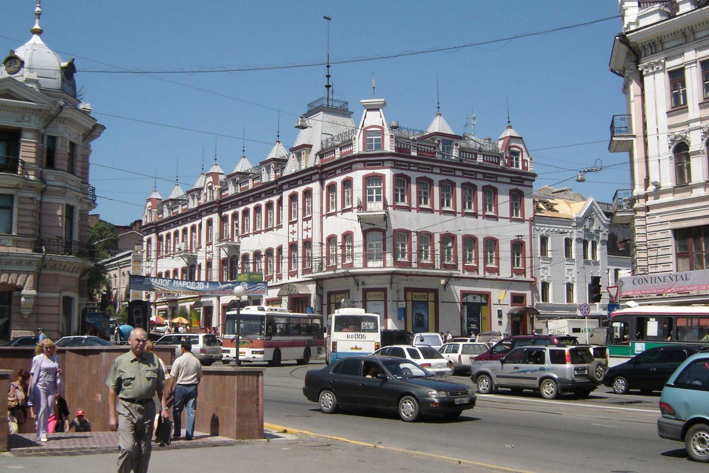 ANA: Tokyo to Vladivostok