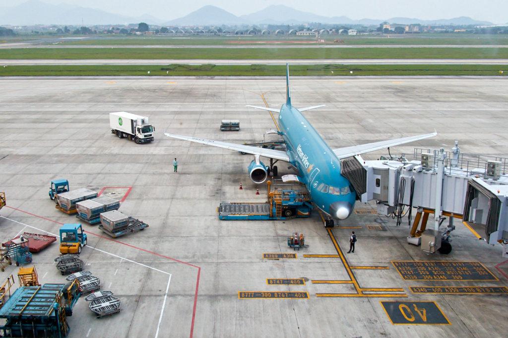 Viatnam Airlines at Noi Bai International Airport