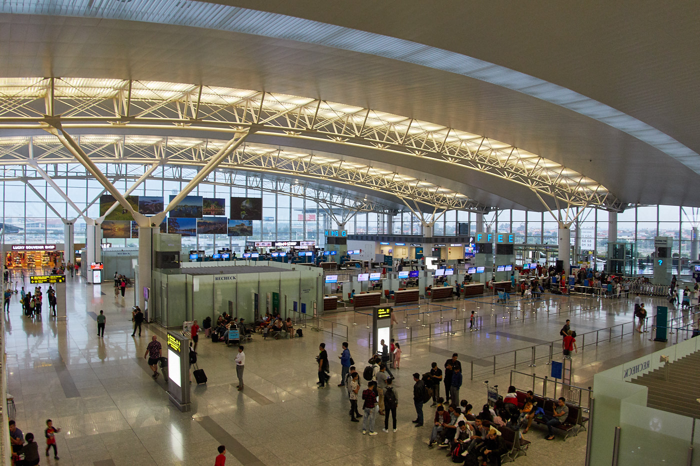 Noi Bai International Airport Hanoi