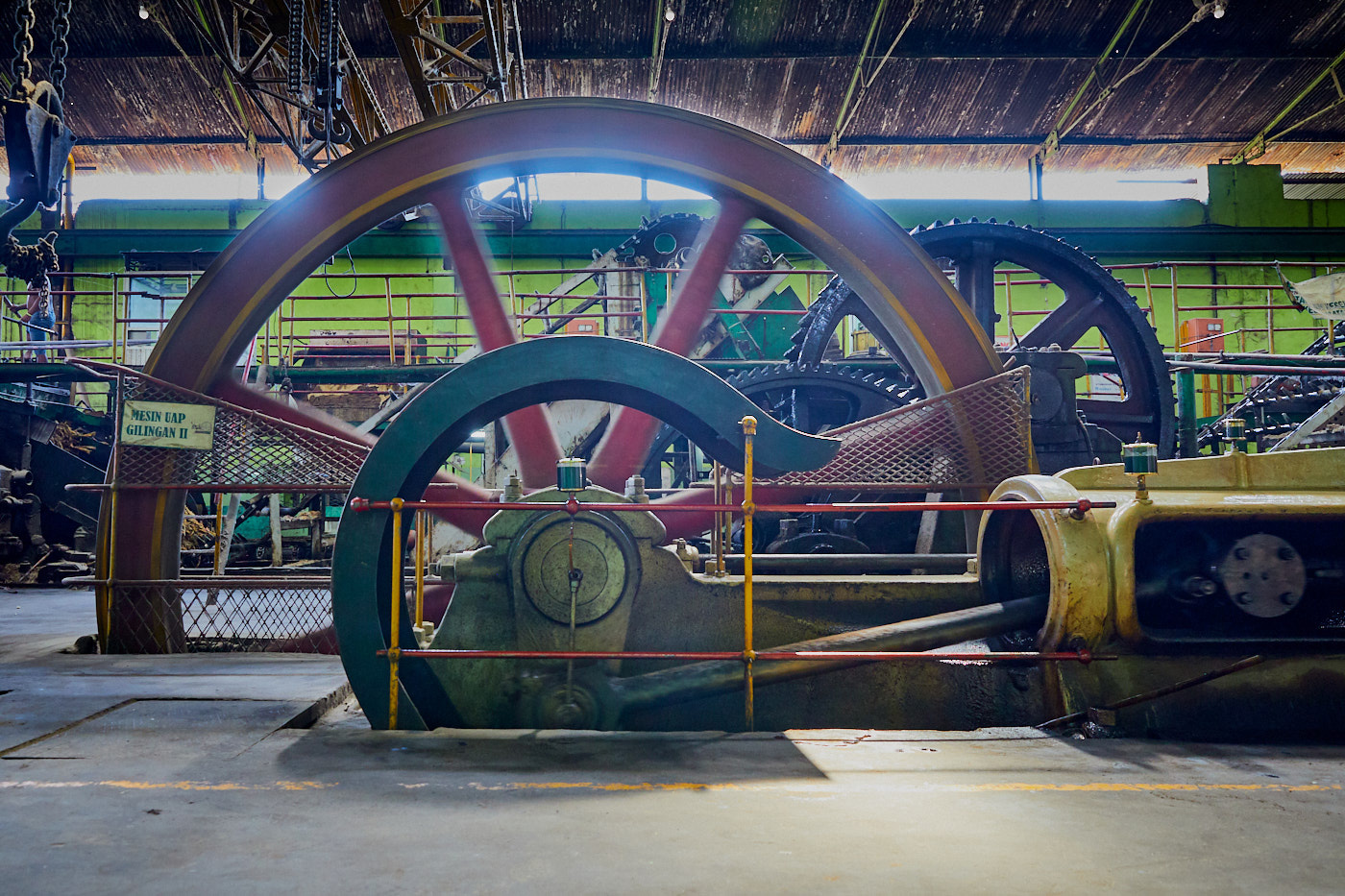 The sweet smell of steam: A century old sugar mill in East Java