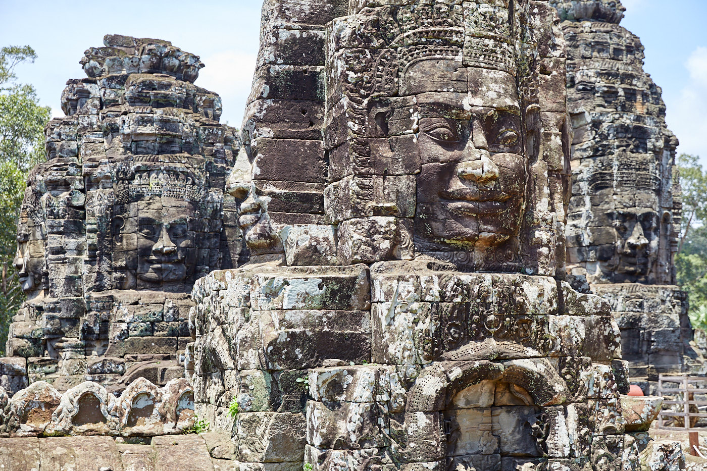 Part of Bayon closes for restoration
