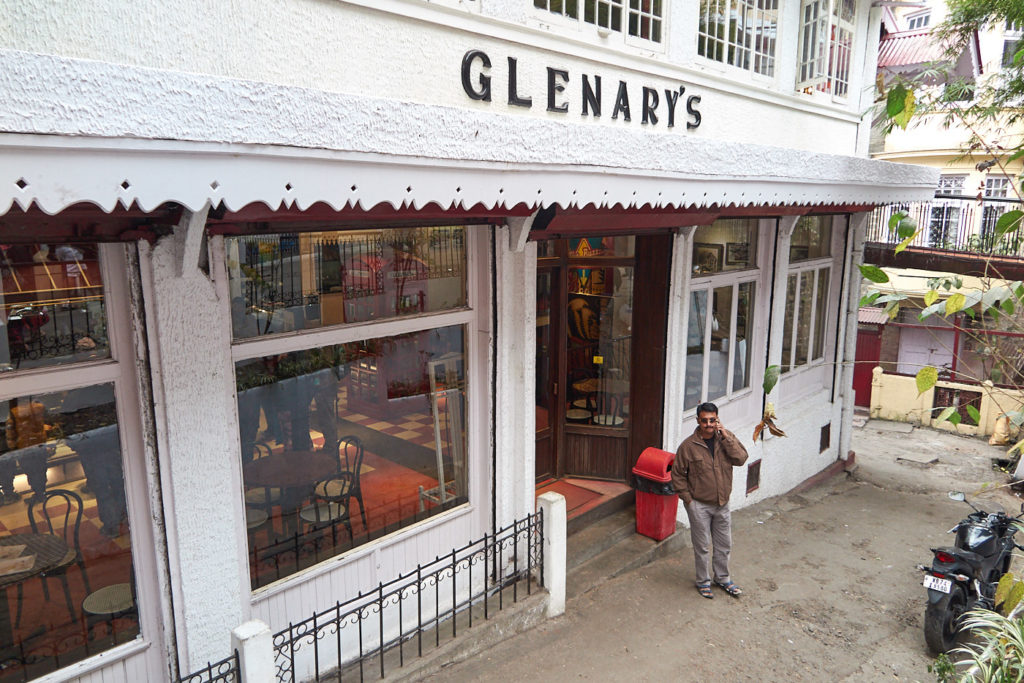 Afternoon tea at Glenary's, Darjeeling