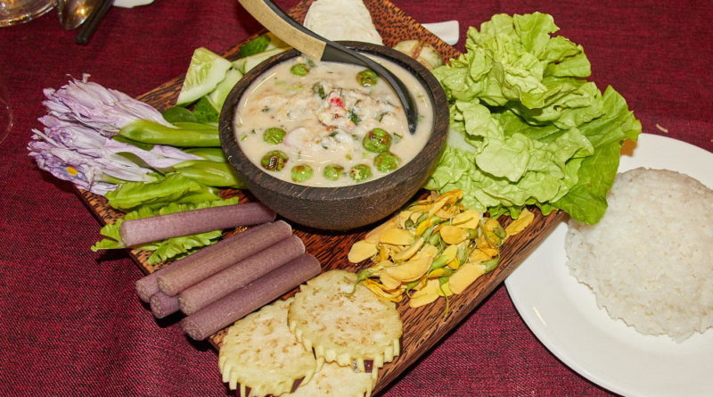 Traditional Khmer fare in Phnom Penh