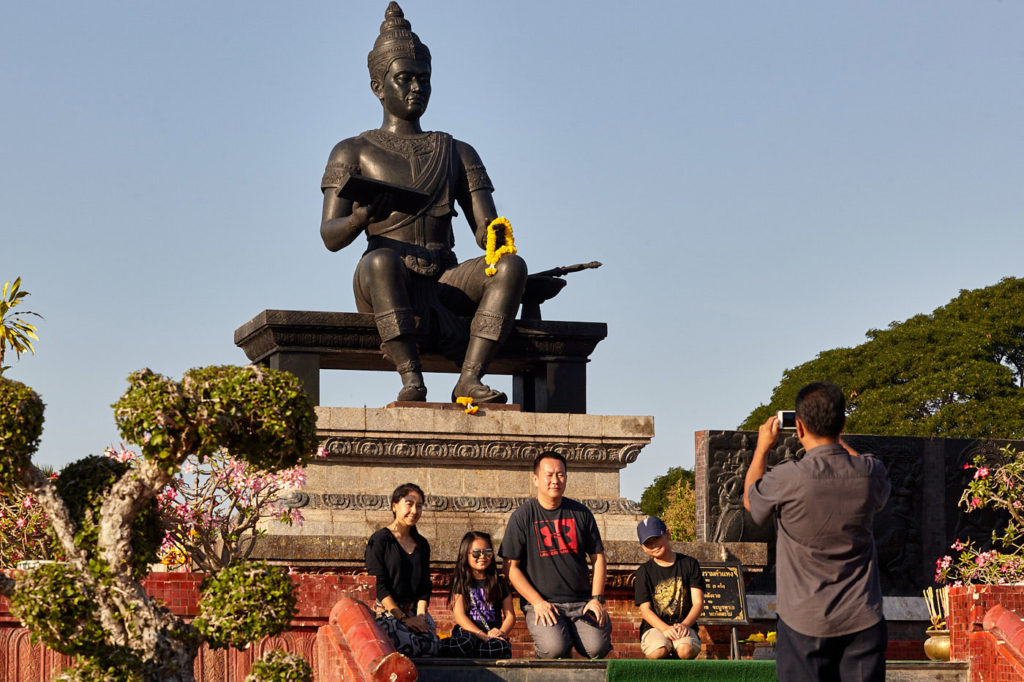 King Ramkamhaeng monument sukhothai