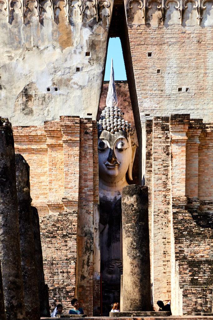 mandapa at Wat Si Chum, Sukhothai
