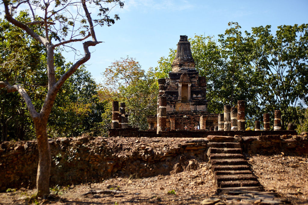 Forest temples, Sukhothai