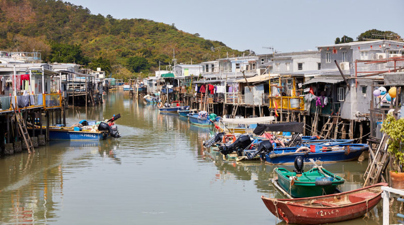 Salt, fish and the battle of Tai O Bay