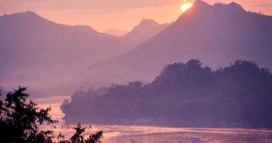 Watching the river flow – Luang Prabang 25 years ago
