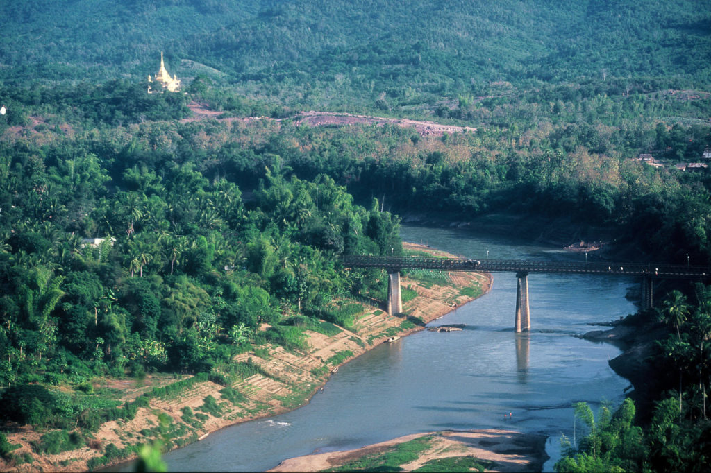Watching the river flow in Luang Prabang