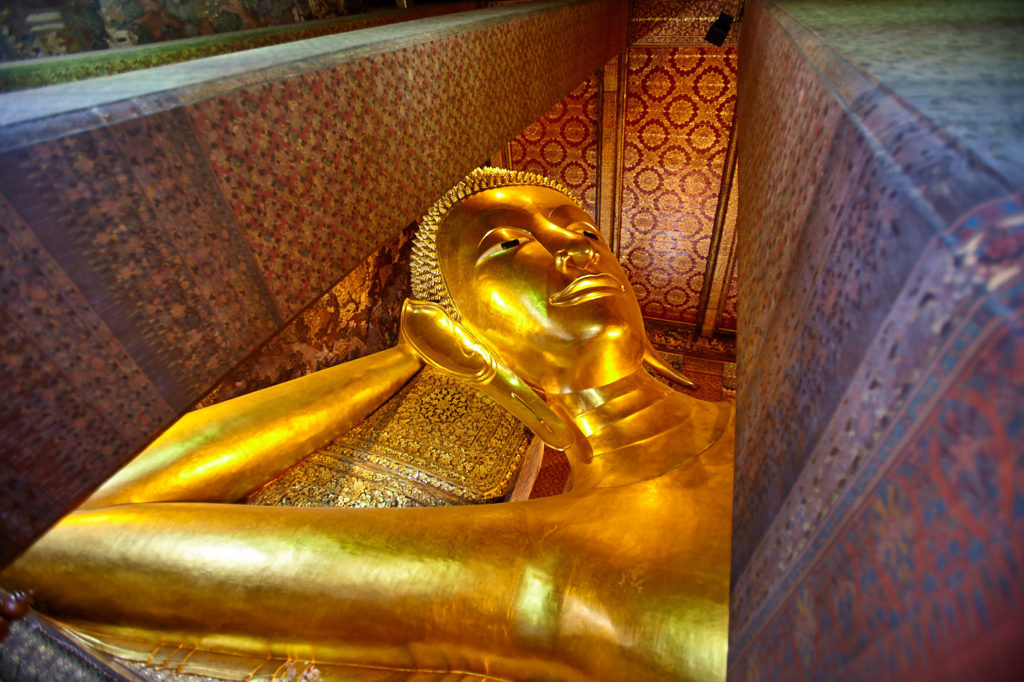 Reclining Buddha at Wat Pho, Bangkok - Temples, Palaces and Parks