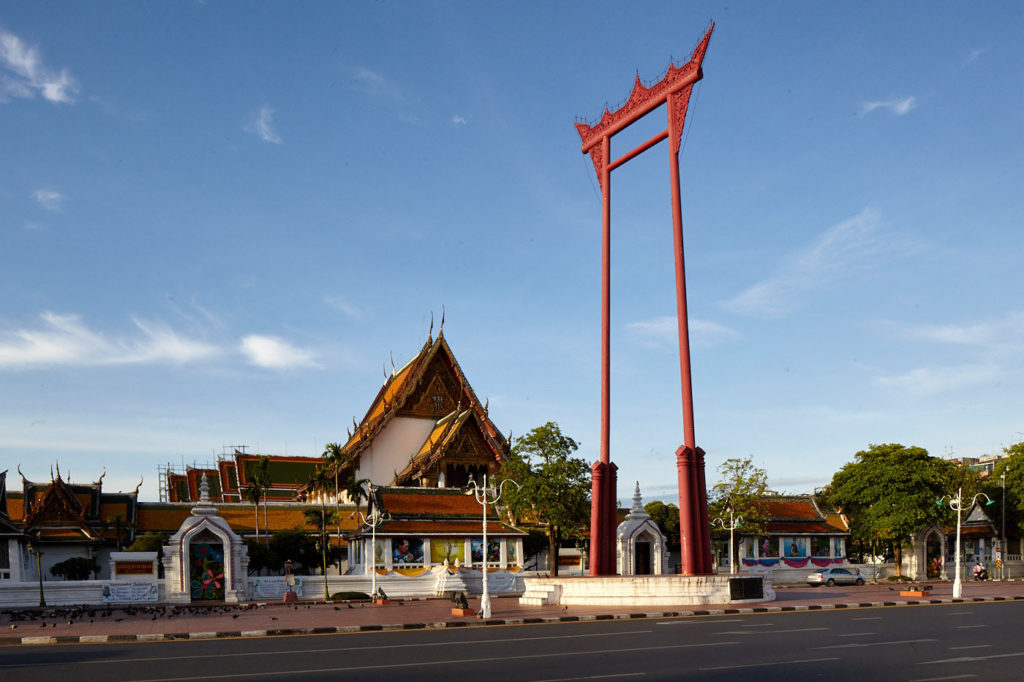 The Giant Swing and Wat Suthat, Bangkok