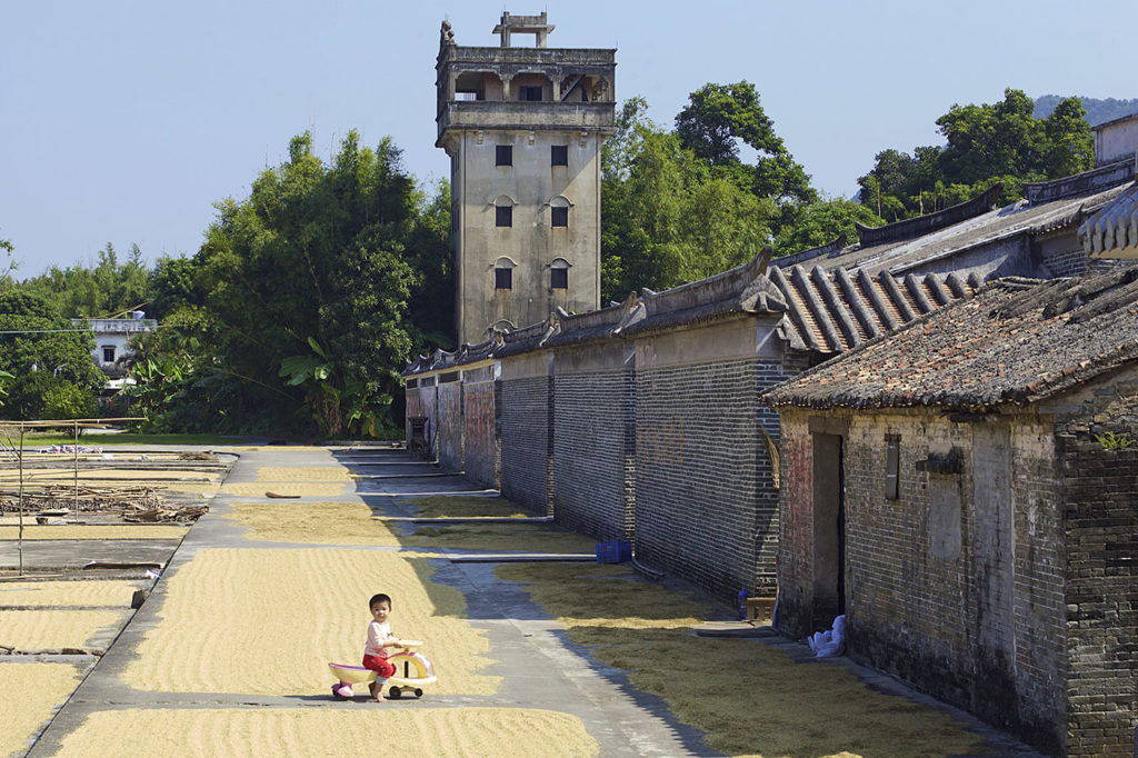 Bao'an diaolou, Majianglong village, Kaiping, China