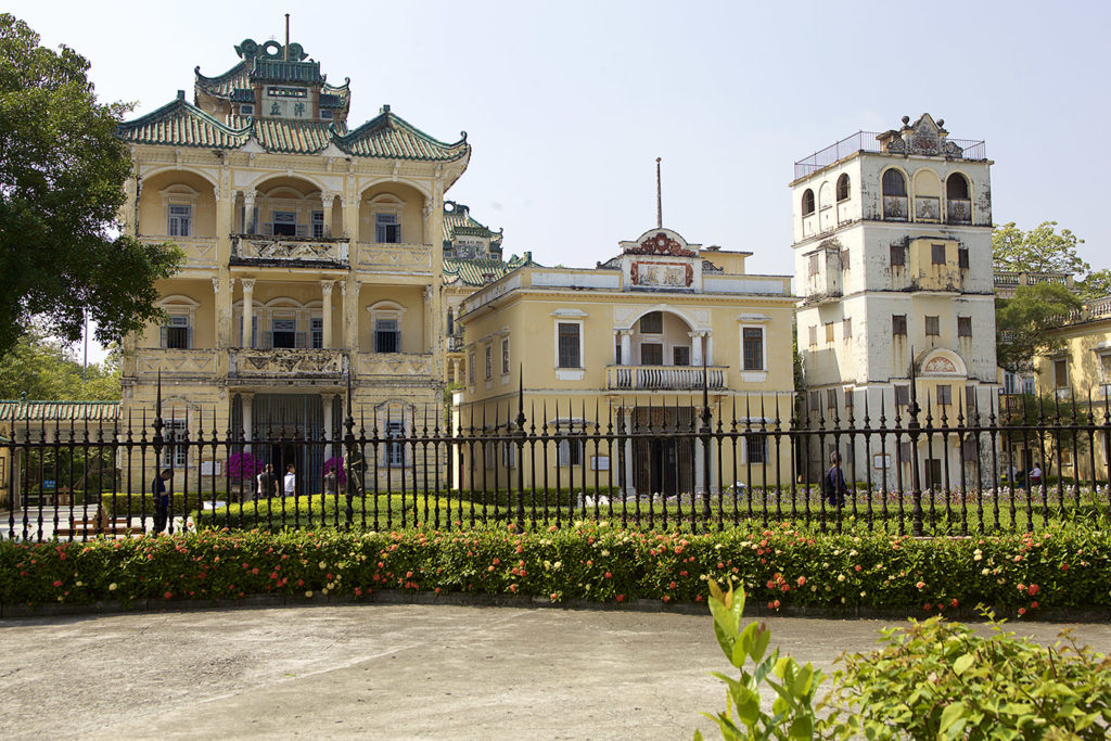 Li garden, Kaiping, China
