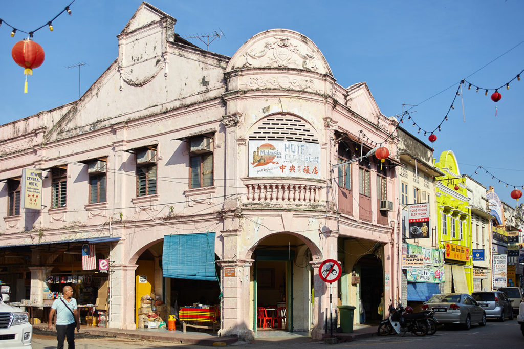 Central Hotel, Jalan Besar, Kuala Lipis A train ride into malaysia's interior