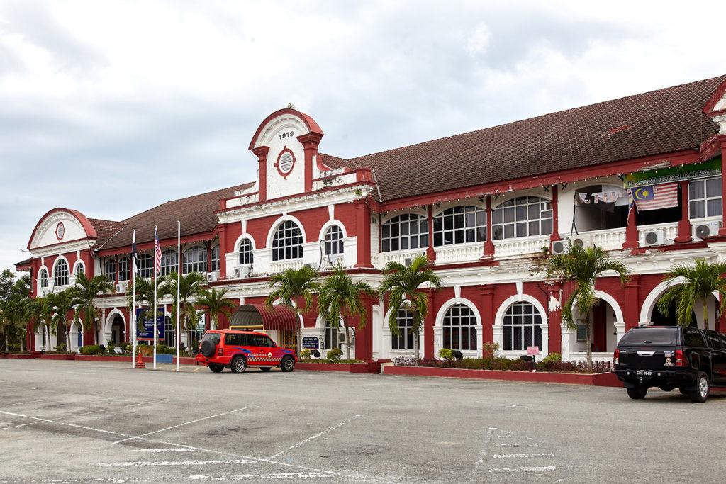 District Administration Building, Kuala Lipis. The Jungle line