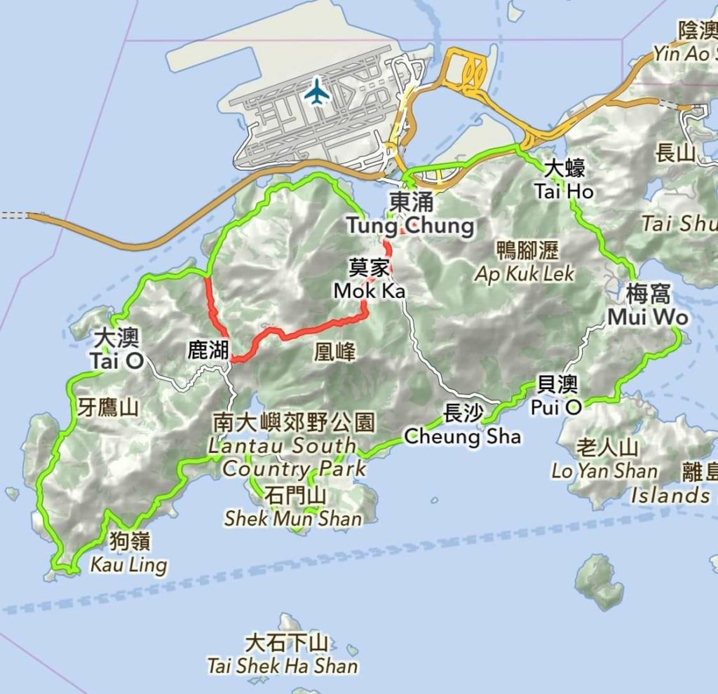 Hiking to support Lantau Conservation
