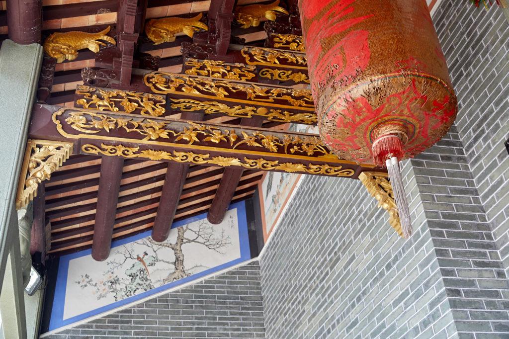 The Man ancestral hall at Tai Hang: veggies and rebelion