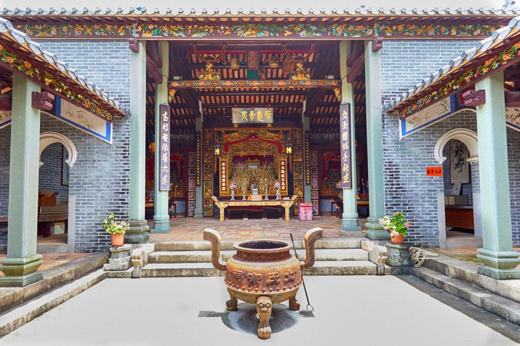 The Man ancestral hall at Tai Hang