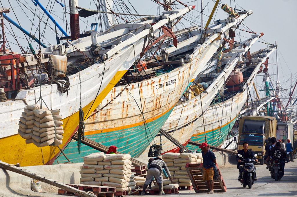 Pinisi, Traditional sailing ships of the Bugis