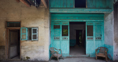 An abandoned Hakka mansion in Yuen Long